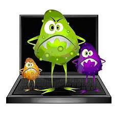 una foto de un virus